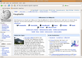 Screenshot di Mozilla Firefox 1.5