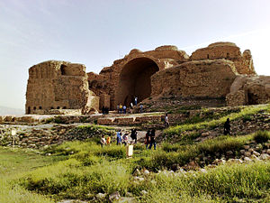 Palace of Ardashir - Picture of the Palace of Ardashir