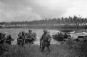 The first wave of US troops lands on Los Negros, Admiralty Islands, 29 February 1944