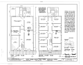 First and Second Floor Plans - Idaho House, South Pass Avenue, South Pass City, Fremont County, WY HABS WYO,7-SOPAC,21- (sheet 1 of 2).png