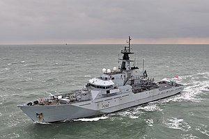 Fishery Protection Vessel HMS Mersey MOD 45155100.jpg