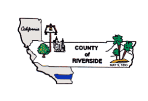 Riverside County Sheriff's Department - Image: Flag of Riverside County, California