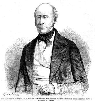 Charles Joseph, comte de Flahaut - S.E. le comte de Flahaut when French Imperial Ambassador to London