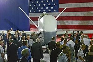Northrop Grumman MQ-4C Triton - Northrop Grumman unveiled the MQ-4C Triton in Palmdale, California in June 2012