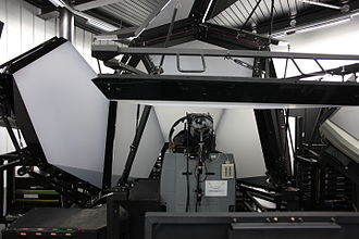 Flight simulator - A military Flight simulator at Payerne air base, Switzerland