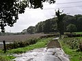 Flooded road, south of Hambledon - geograph.org.uk - 251712.jpg