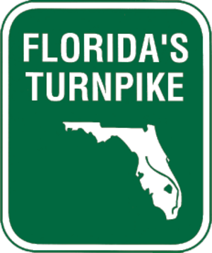 Lake County, Florida - Image: Florida's Turnpike shield