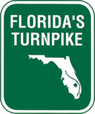 Port St. Lucie, Florida - Image: Florida's Turnpike shield