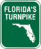 Homestead Extensionof Florida's Turnpike marker