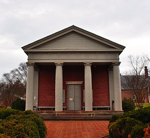 Fluvanna County Courthouse, January 2014