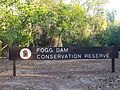 Fogg Dam signs - Fogg Dam Conservation Reserve at entrance.jpg