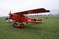 Fokker DVII Ernst Udet LSideFront Dawn Patrol NMUSAF 26Sept09 (14619981693).jpg