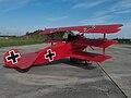 Fokker Dr.I at České Budějovice Airport.jpg