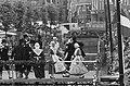 Folkloristisch festival te Bolsward, overzicht optreden Bolswarder Skotsploeg me, Bestanddeelnr 914-1895.jpg