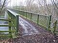 Footbridge over M2 motorway - geograph.org.uk - 733403.jpg