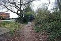 Footpath parallel to Blackthorn Av. (3) - geograph.org.uk - 1243448.jpg