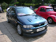 Una Ford Escort Cosworth