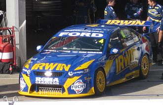Alex Davison - The Ford FG Falcon of Alex Davison at the 2010 Clipsal 500 Adelaide