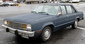 Ford Fairmont - 1978-1980 Ford Fairmont four-door sedan