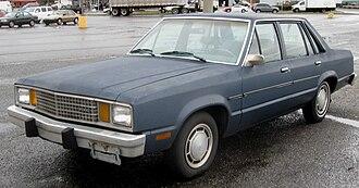 Ford Fairmont - 1981 Ford Fairmont four-door sedan