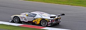 Ford GT1 Marc VDS Racing Team 40 rearview Silverstone 2011.jpg