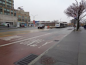 Fordham Plaza, Bronx - Image: Fordham Plaza Bus Loop 06