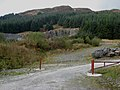Forestry quarry, Clatteringshaws Forest - geograph.org.uk - 262762.jpg