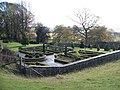 Formal garden at Snowshill Hill Farm - geograph.org.uk - 1588515.jpg