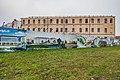 Former Monastery of Holy Trinity in Minsk during reconstruction, November 2019 3.jpg