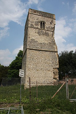 Fornham St Genevieve church tower - geograph.org.uk - 814935.jpg