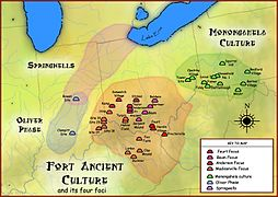 Fort Ancient Monongahela cultures HRoe 2010