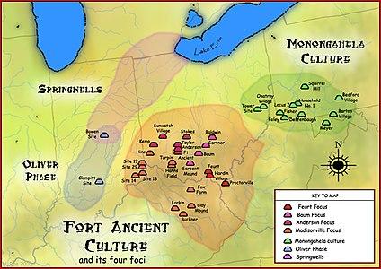 Fort Ancient Monongahela cultures HRoe 2010