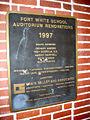 Fort White School Hist Dist06 marker.jpg