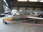 Fouga CM-175 Musée de l'Air et de l'Espace-Réserves de Dugny..JPG