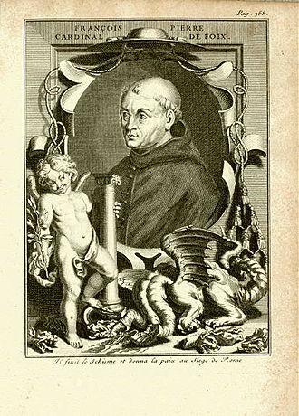 Pierre de Foix, le jeune - Image: François Pierre Cardinal de Foix