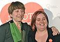 Françoise David et Marie-Ève Duchesne 2014-03-09.jpg