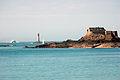 France Bretagne Ille-et-Vilaine Dinard Fort Harbour 03.jpg