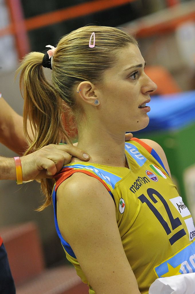 Volleyball player francesca piccinini impossible the
