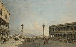 View of the Piazzetta Looking toward San Giorgio Maggiore, Venice