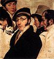 Francesco Hayez - Self-Portrait in a Group of Friends - WGA11210.jpg