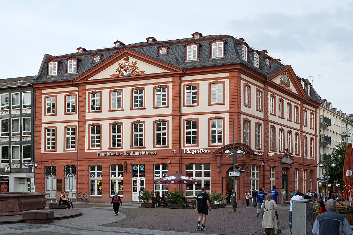 Schadsche stiftung wikipedia for Liebfrauenberg frankfurt