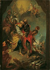 Farewell to the Apostles Peter and Paul Before Their Martyrdom