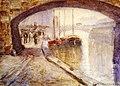 Frederick Carl Frieseke, 1899 - Misty Morning on the Seine.jpg