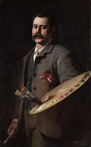 Frederick McCubbin - Self-portrait (1886)