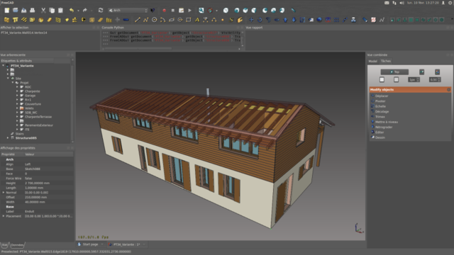 File Freecad Screenshot Rockn House Out Png