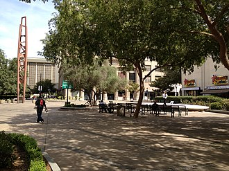 California Historical Landmarks in Fresno County - Image: Fresno Free Speech Fight of the Industrial Works of the World