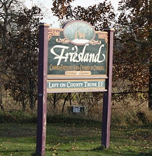 Friesland, Wisconsin Village in Wisconsin, United States