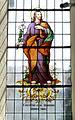 Fronhofen Pfarrkirche Fenster Constituit eum Dominum.jpg