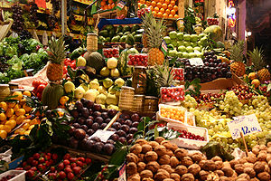 Fruits contain a good amount of Vitamin C (Photo credit: Wikipedia)