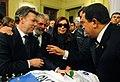 Funerales de Nestor Kirchner Presidentes de Argentina Brasil Colombia y Venezuela.jpg